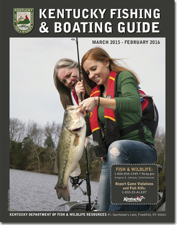 Kentucky Fish and Boating Guide Cover